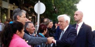Με πολίτες συνομίλησε ο Προκόπης Παυλόπουλος στη Θεσσαλονίκη