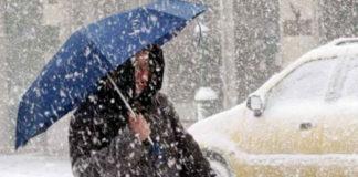 ΕΜΥ: Επιδείνωση του καιρού με χιόνια και βροχές