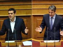Στο 3,4% είναι η διαφορά της Νέας Δημοκρατίας από τον ΣΥΡΙΖΑ